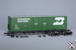 ScaleTrains HO 1003 Kit Classics Evans 5100 RBL 8' Double Plug Door Boxcar Burlington Northern - FWD #750001