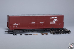 ScaleTrains HO 1012 Kit Classics Evans 5100 RBL 8' Double Plug Door Boxcar Conrail - CR #170375