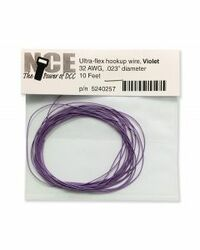 NCE DCC 5240257 10' of 32 Gauge Wire, Violet