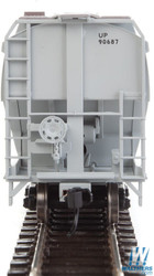 Walthers Mainline HO 910-7621 60' NSC 5150 3-Bay Covered Hopper Union Pacific UP #90687