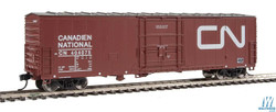 Walthers Mainline HO 910-2050 50' FGE Insulated Box Car Canadian National CN #404075
