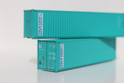 Jacksonville Terminal Company N 405037 40' High Cube  Container DONG FANG 2-Pack