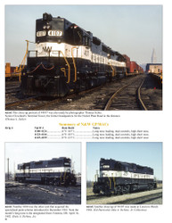 Morning Sun Books 1683 Norfolk & Western Railway in Color Volume 3 1955-82 2nd Generation Road Switchers and Newer Power