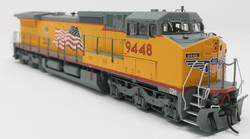 Atlas HO Gold 20001464 Golden Spike Club DASH 8-41C DCC & Sound Union Pacific Red Sill - Building America with Flag Scheme UP #9448