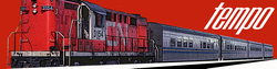 Rapido Trains Inc HO 131002 Canadian National Tempo RS-18 DC/Silent Set 2