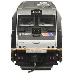 Atlas Master N 40004041 ALP-45DP Silver Series DCC Ready NJ Transit #4512