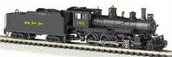 Bachmann N 51459 Baldwin 4-6-0 Mogul DCC Equipped Steam Locomotive Nickel Plate Road NYC&St.L #182