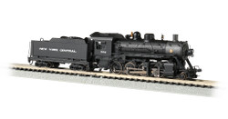 Bachmann N 51354 Baldwin 2-8-0 Consolidation Steam Locomotive with DCC & Sound New York Central NYC #1156