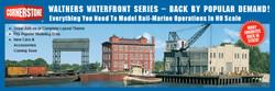 Walthers Cornerstone HO 933-3067 Pier & Traveling Crane - Kit