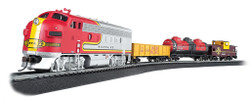 Bachmann HO 00740 The Canyon Chief - Santa Fe Train Set