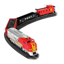 Bachmann HO 00647 The Santa Fe Flyer - Diesel Train Set