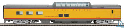 Walthers Proto HO 920-18153 85ft ACF Dome Diner Car Union Pacific Heritage Series Overland UPP #8008