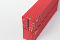 Jacksonville Terminal Company N 405030 40' High Cube  Container CAI 2-Pack