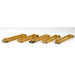 Athearn HO ATH95032 RTR MAXI I Well 5 Car Set - Early - Trailer Train/Southern Pacific DTTX #73153