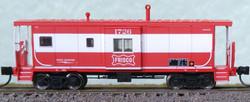 Bluford Shops N 44091 International Car Company Bay Window Caboose Frisco SLSF #1735