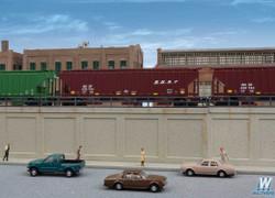Walthers Cornerstone N 933-3882 Urban Retaining Walls - Kit
