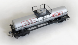 Tangent Scale Models HO 22121-04 General American GATC 1957 Design 8,000 Gallon Welded Tank Car GATX Clinton Corn Original 1958 GATX #74681