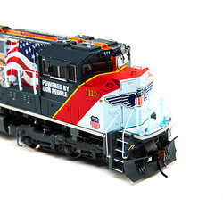 Athearn Genesis HO ATHG01111 DCC Tsunami 2 Sound SD70ACe Powered By Our People Union Pacific UP #1111