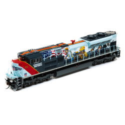 Athearn Genesis HO ATHG11110 DCC & Sound Ready SD70ACe Powered By Our People Union Pacific UP #1111
