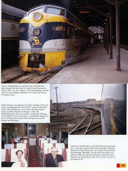 Morning Sun Books 1239 Trackside Around Illinois 1960-1973 with George Strombeck