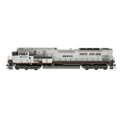 Athearn Genesis 2 HO ATHG27238 DCC & Sound Ready SD90MAC-H Phase II Electro Motive Division EMDX #90