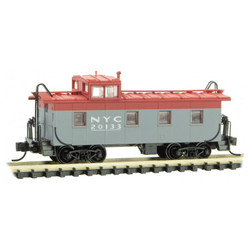 Micro Trains 100 00 440 36' Riveted Steel Caboose w/ Offset Cupola New York Central Pacemaker Scheme NYC #20133