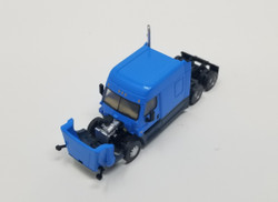 Trainworx N 42534 Freightliner Cascadia Mid Roof Tractor - Light Blue
