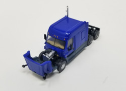Trainworx N 42535 Freightliner Cascadia Mid Roof Tractor - Dark Blue
