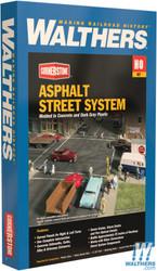 Walthers Cornerstone HO 933-3194 Asphalt Street System - Kit