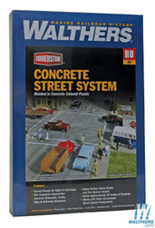 Walthers Cornerstone HO 933-3138 Concrete Street System - Kit