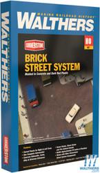 Walthers Cornerstone HO 933-3139 Brick Street System - Kit