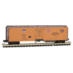 Micro Trains Line 069 00 231 51' Rivet Side Mechanical Reefer American Refrigerator Transit RMAX #284