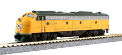 Kato N 106104-LS-1 C&NW EMD E8A with DCC/ESU LokSound and Pullman Bi-Level with Lighted Cars '400' Train 6-Unit Set