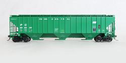Tangent Scale Models HO 20033-03 Pullman-Standard PS-2CD 4750 Covered Hopper Penn Central 'Original 2-1974' PC #890555
