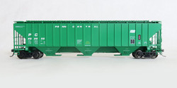 Tangent Scale Models HO 20033-06 Pullman-Standard PS-2CD 4750 Covered Hopper Penn Central 'Original 2-1974' PC #890613