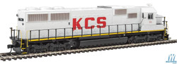 Walthers Mainline HO 910-20358 EMD SD50 with ESU LokSound/DCC - Kansas City Southern KCS #711