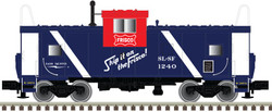 Atlas N 50004127 Extended Vision Caboose Frisco 'Red White Blue Scheme' SLSF #1240