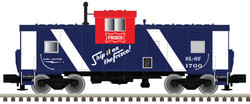 Atlas N 50004128 Extended Vision Caboose Frisco 'Red White Blue Scheme' SLSF #1700