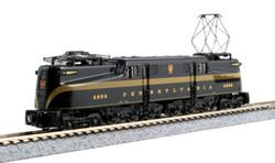 Kato N 137-2005 DCC Ready GE GG1 Electric Locomotive Pennsylvania Railroad Brunswick Green 5 Stripe PRR #4859