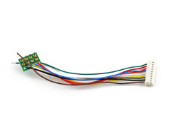 SoundTraxx 810135 9-Pin JST to NMRA 8-Pin Wiring Harness
