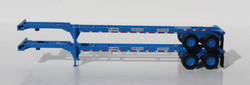Jacksonville Terminal Company N 142013 40' Chassis NYK Line 2-Pack