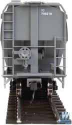 Walthers Mainline HO 910-7650 60' NSC 5150 3-Bay Covered Hopper Illinois Central IC #799222