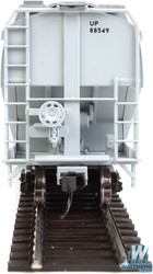 Walthers Mainline HO 910-7653 60' NSC 5150 3-Bay Covered Hopper Union Pacific UP #88549
