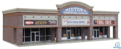 Walthers Cornerstone N 933-3891 Modern Shopping Center I - Kit