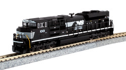 Kato N 176-8513 DCC Ready EMD SD70ACe Diesel Locomotive Norfolk Southern NS #1001