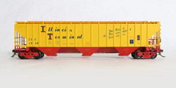 Tangent Scale Models HO 20013-12 Pullman-Standard PS-2CD 4750 Covered Hopper Illinois Terminal 'Original 12-73' ITC #1942