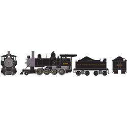 Athearn RTR HO ATH84974 Old Time 2-8-0 Consolidation Steam Locomotive DC version New York Central NYC #2399
