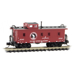 Micro Trains 99302060 34' Wood Sheathed Caboose Great Northern 2 - Pack