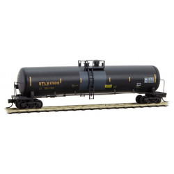 Micro Trains Line 11044480 Weathered and Graffiti Tank Car UTLX #676018