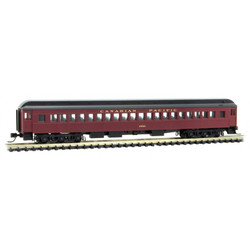 Micro Trains Line 160 00 080 78' Heavyweight Single-Window Coach Car Canadian Pacific CP #1853